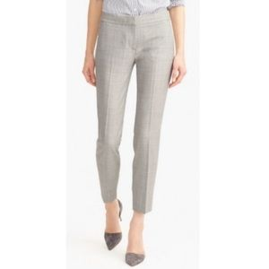 NWT J. Crew Petite Paley Pant In 120's wool